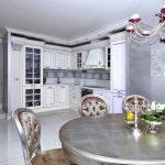 Фото 68: Декоративная штукатурка на кухне фото