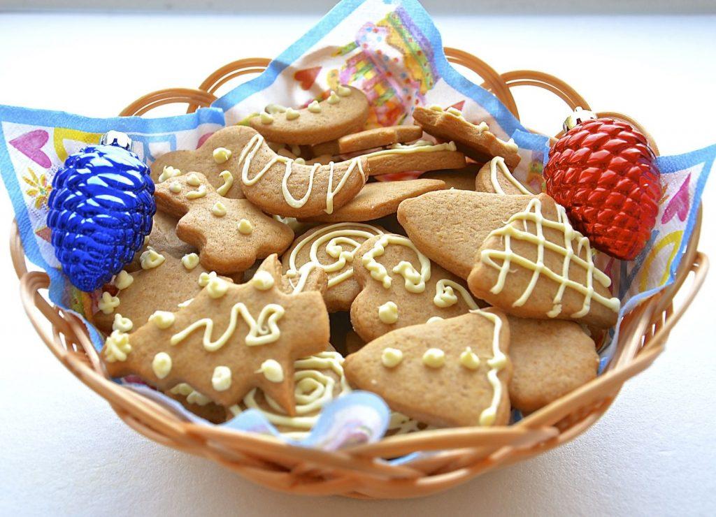 Декоративное покрытие на поверхность печенья