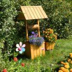 Фото 33: Декоративный колодец для сада своими руками