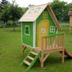 Фото 28: Детские домики из картона