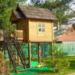 Фото 18: Детский деревянный домик своими руками