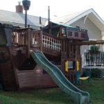 Фото 25: Детский домик кораблик
