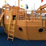 Фото 59: Детский домик-корабль