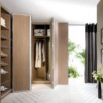 Фото 112: Дверь-гармошка гардеробной