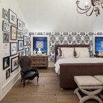 Фото 42: Фото на стене в спальне