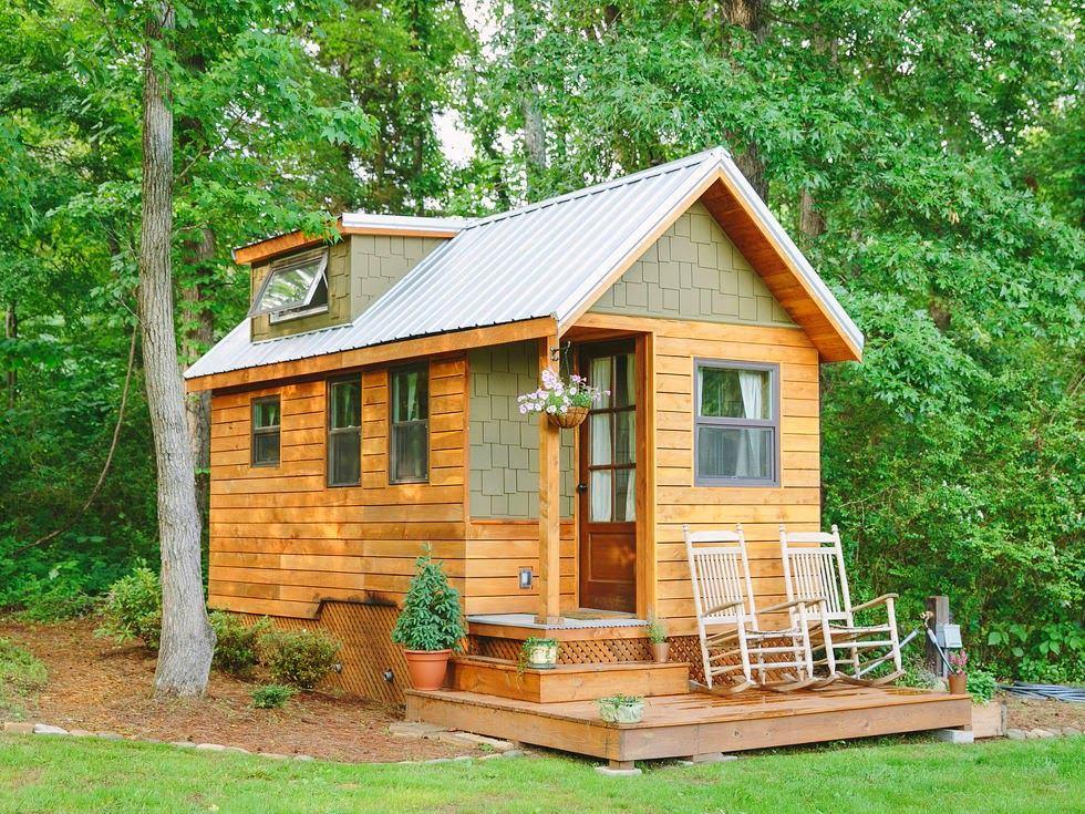 Фото уютного дачного домика