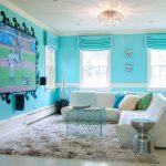 Фото 36: Интерьер спальни с телевизором