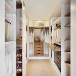 Фото 59: Яркий дизайн гардеробной