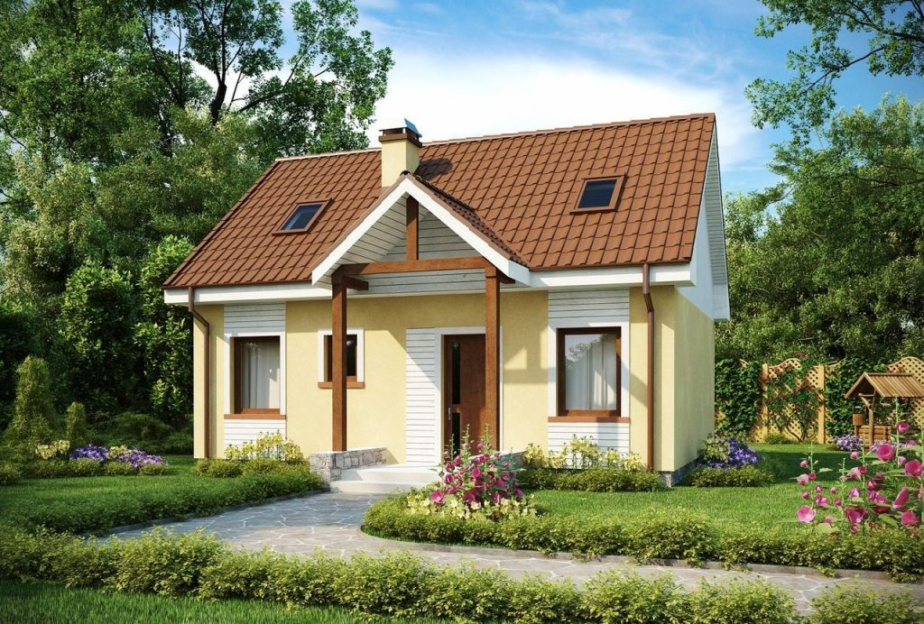 Каркасный летний домик