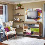 Фото 46: Красивая комната с телевизором