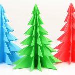 Фото 51: Красивая мини елка из бумаги