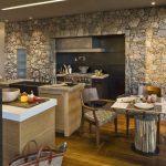 Фото 169: Красивая отделка стен на кухне