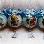 Фото 3: Красивый декупаж шаров