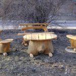 Фото 29: Креативная садовая мебель