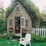 Фото 41: Маленький сарай для дачи