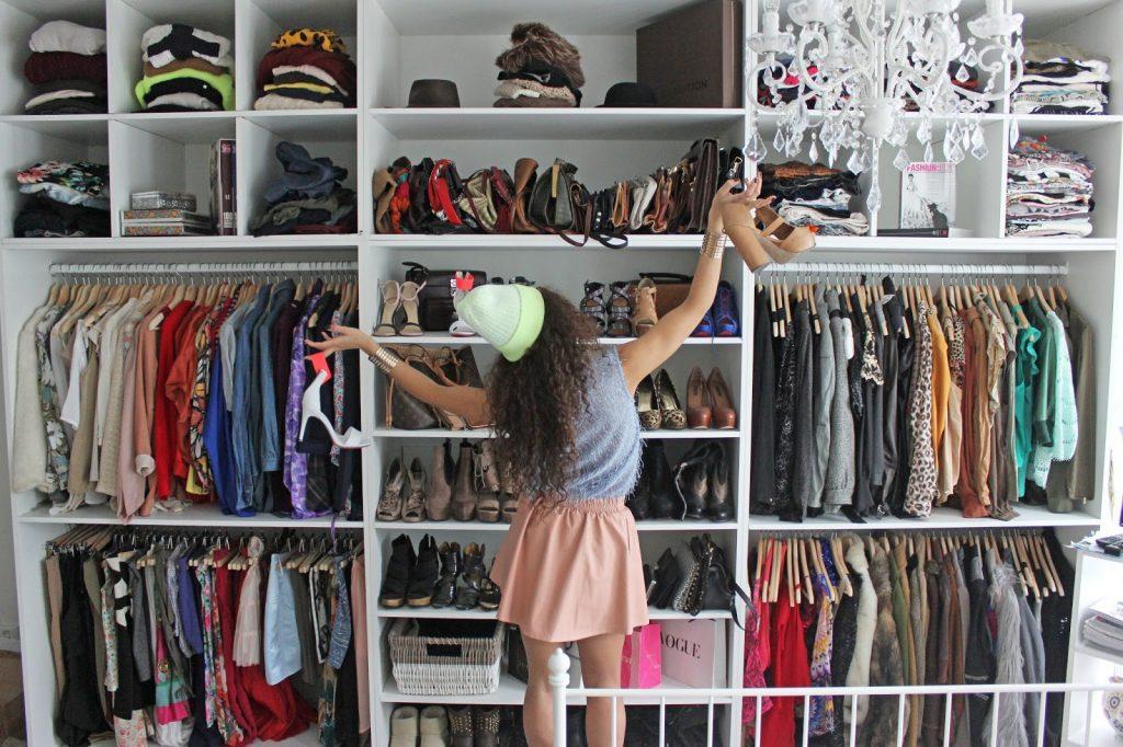 Модная гардеробная