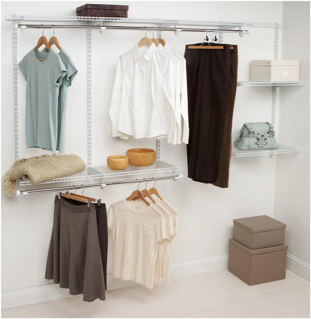 Монтаж полок в гардеробной