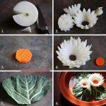 Фото 86: Изготовление цветов из лука