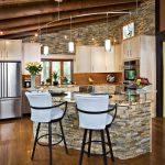 Фото 104: Отделка стен на кухне фото