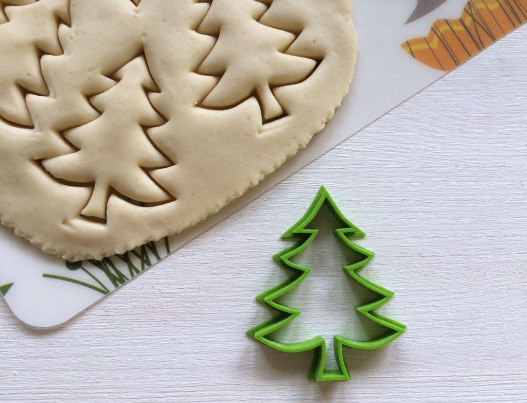 Печенье елочка фото