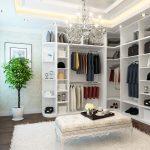 Фото 130: Планировка и наполнение гардеробной