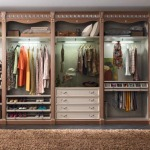 Фото 64: Планировка нижнего отдела гардеробной
