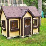 Фото 60: Пример детского домика