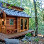 Фото 35: Простой и комфортный дачный домик