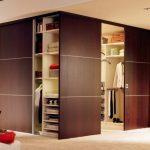 Фото 111: Раздвижные двери или купе гардеробной
