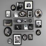 Фото 69: Семейные фотографии на полке