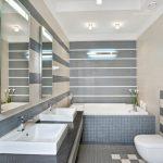 Фото 78: Серо-бежевая ванна