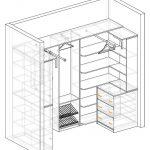 Фото 48: Схема шкафа для гурдероба
