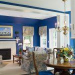 Фото 76: Синие оттенки в интерьере