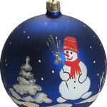 Фото 28: Снеговик на шаре