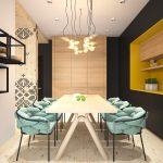 Фото 31: Современные стены на кухни в этническом стиле