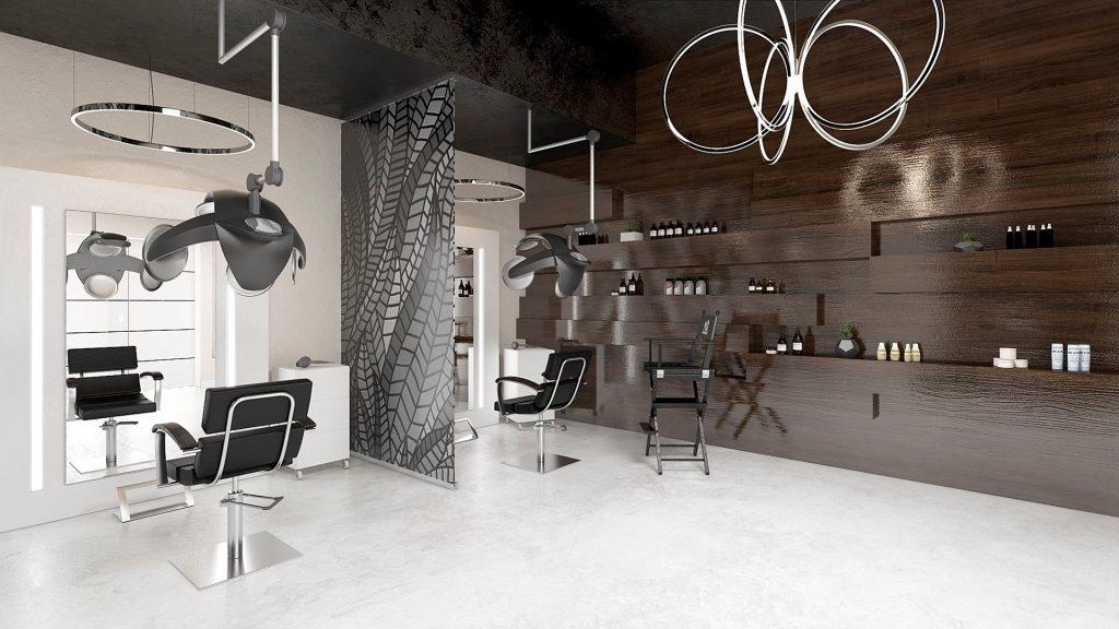 Современный дизайн интерьера салона красоты