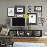 Фото 16: Стена с телевизором