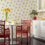 Фото 96: Стены на кухне варианты