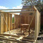 Фото 49: Строительство сарая своими руками