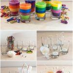 Фото 53: изготовление разноцветных свечей