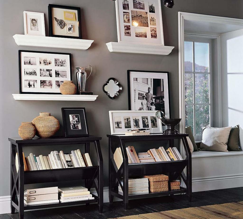 Украшение комнаты фотографиями