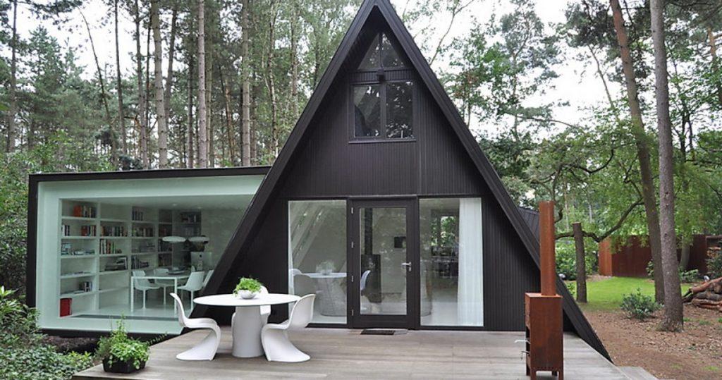 Уникальный дизайн дачного домика
