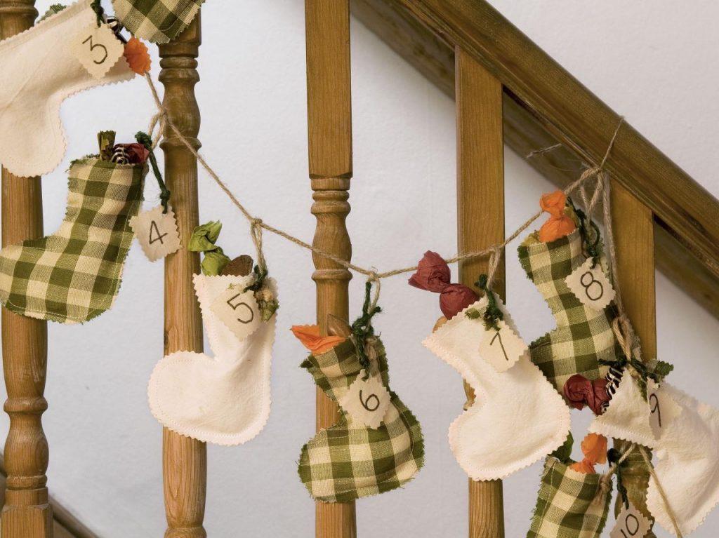 Вариант гирлянды для детей с подарками