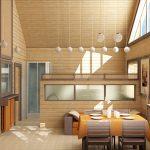 Фото 87: Внутренняя отделка деревянного дома под ключ
