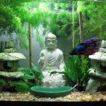 Фото 57: Фигурки в аквариуме