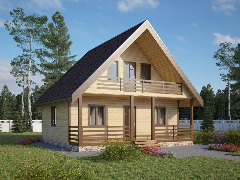 Пример дачного дома
