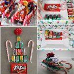 Фото 14: Сладки санки из конфет в подарок на Новый Год