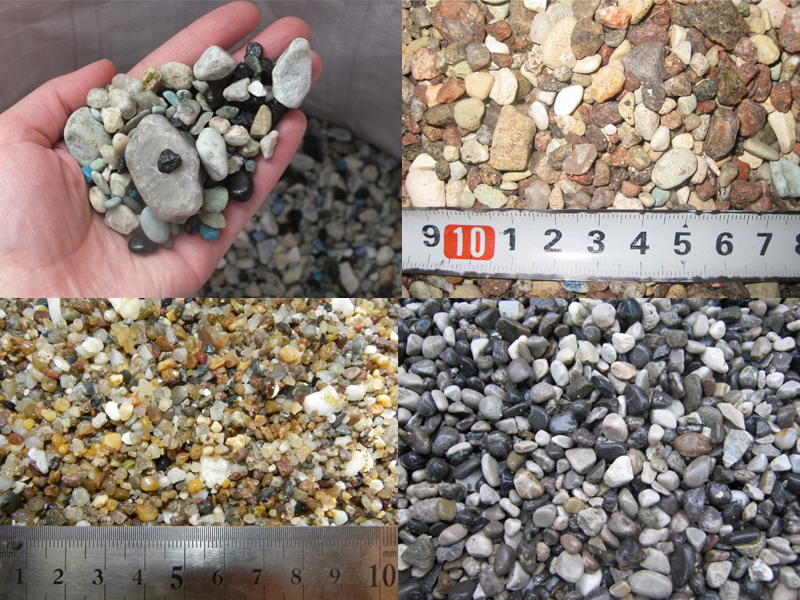 Фракции камушков для аквариума