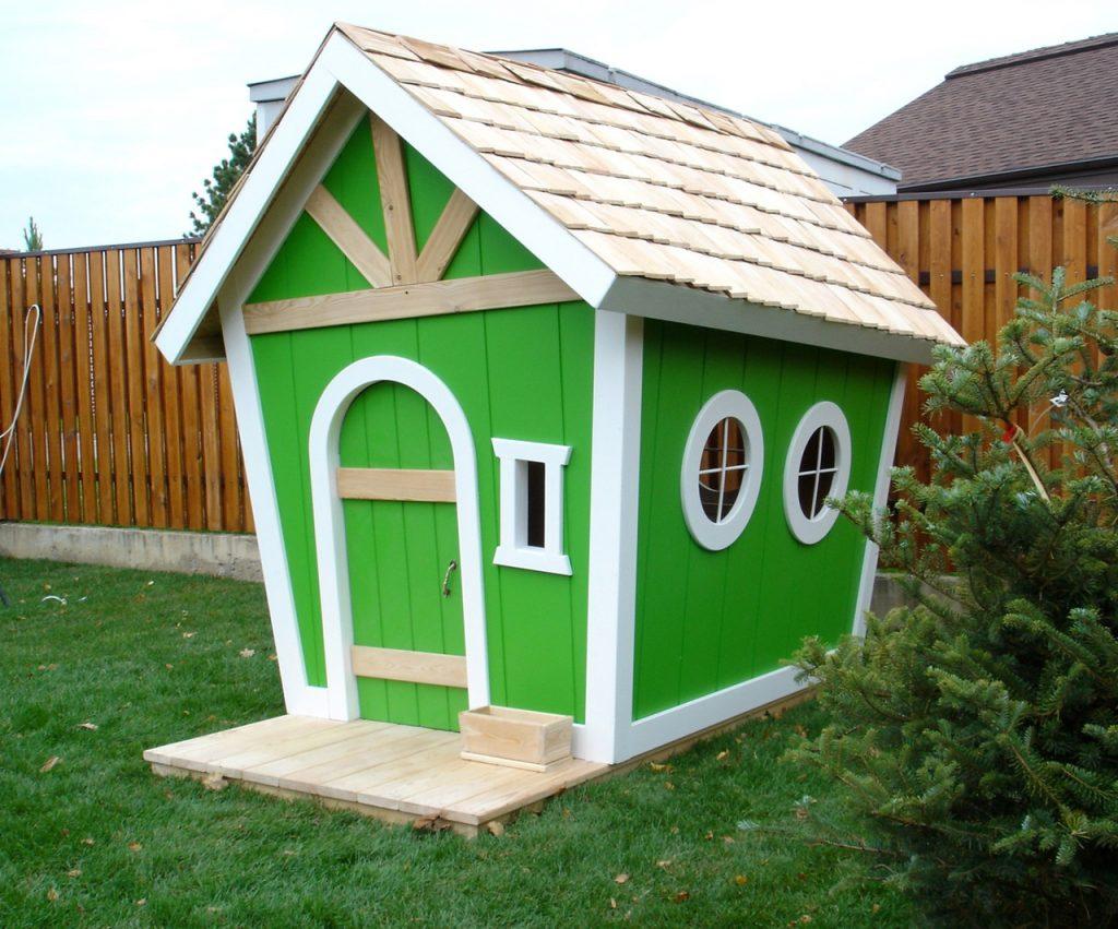 Сказочный детский домик