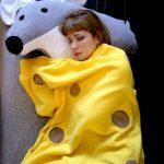 Фото 42: Плед и подушка с мышкой